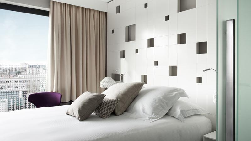 Chambres d 39 h tel rennes h tel toiles le saint - Chambre d hotel design ...